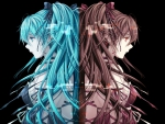 Two Faces Of Miku Hatsune