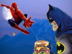 Spiderman Batman Burger