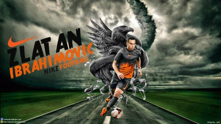 Zlatan Ibrahimovic Nike Wallpaper Soccer Sports