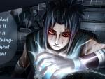 sasuke with chidori