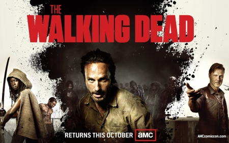 The walking dead - 09, 2013, image, dead, 20, walking