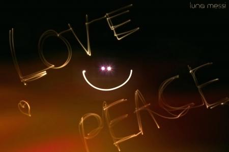 Smile  Love  Peace