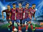 FC Barcelona Champions League wallpaper 2013-2014