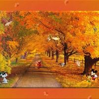 Animated autumn