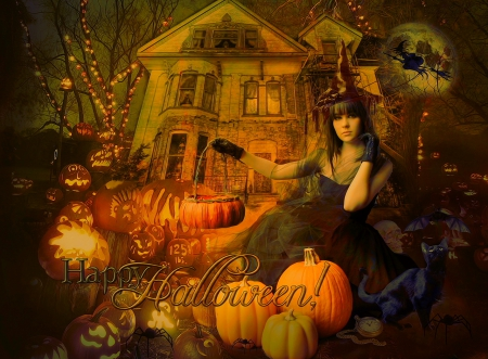 Superior Happy Halloween   3D And CG U0026 Abstract Background Wallpapers On Desktop  Nexus (Image 1572910)