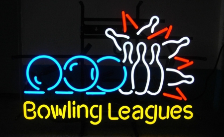 Bowling strike on the way to 300 - neon, bowling wallpaper, hobby, pin