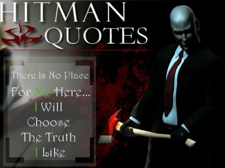 Agent 47 Quote 1 Hitman Video Games Background Wallpapers On Desktop Nexus Image 1574398