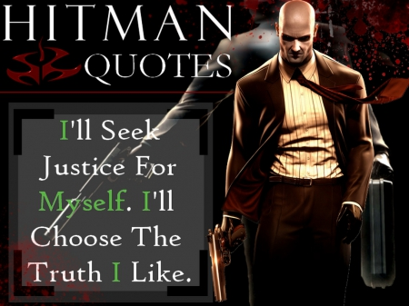 Agent. 47 (Quote #6) - Video Games, Bloody, Hitman, Crimes, Game Character, Blood Money, Agent47, Quotes