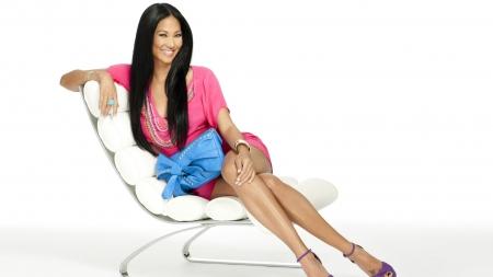 Kimora Lee Simmons gorgeous brunette - sexy, hot, teen, cute