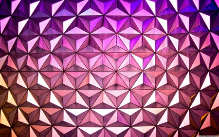 Geometric Stars - stars, pretty, black, abstract, 3D, purple, lines, white, pink