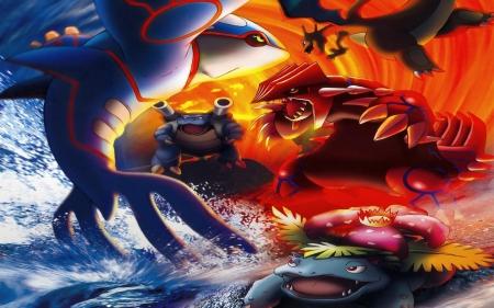 Epic Battle Pokemon Wallpapers And Images Desktop Nexus