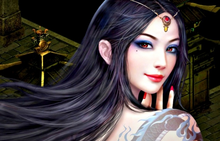 Beauty other video games background wallpapers on desktop nexus image 1576160 - Beautiful woman painting hd ...