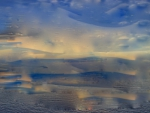 sunrise on the mersey