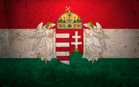 Hungary Forever - hungarian, hungary, nation, flag