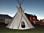 a teepee in Barrie