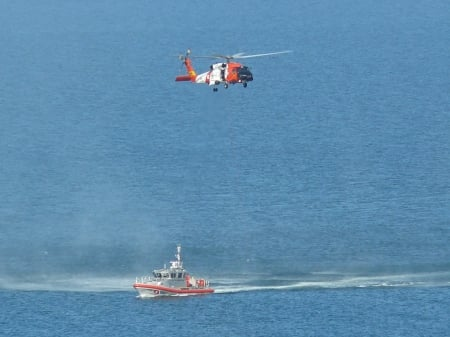 Florida Coast Guard at Work - Coast Guard, Gulf, ship, helicopter