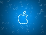 Blue apple design
