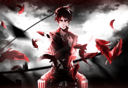 Eren Yeager Other Anime Background Wallpapers On Desktop Nexus Image 1577477