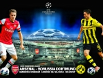 Arsenal - Borussia Dortmund Champions League 2013