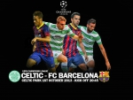 Celtic v FC Barcelona Champions League 2013