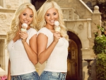 Playboy's Blonde Haired Twins