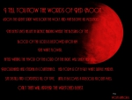 words of red moon