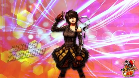 Sakura Kasugano Street Fighter Video Games Background Wallpapers