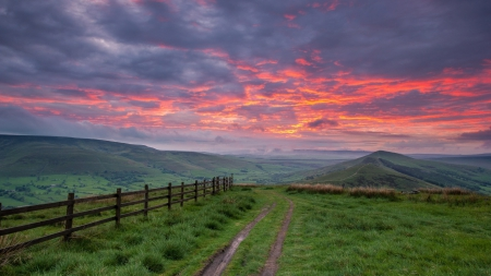 Scenic Country Sunset