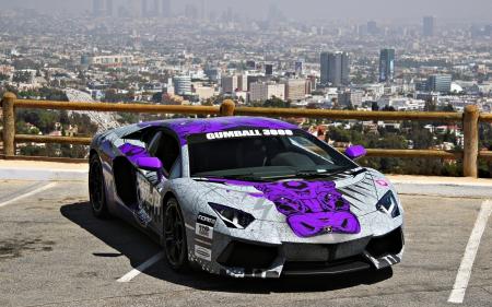 Lamborghini Aventador Race Car Lamborghini Cars Background
