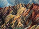 unbelievably beautiful colored hills in china