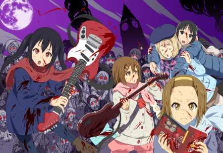 K On Vs Zombies Other Anime Background Wallpapers On Desktop