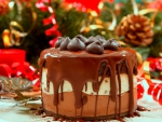 Choco cake hd image happy birthday