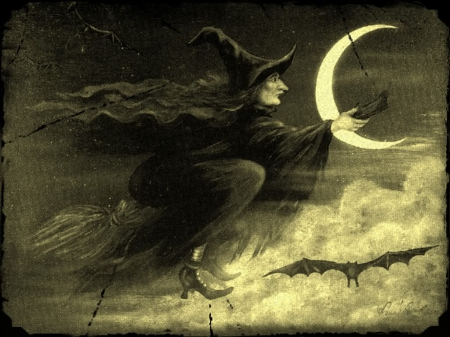 old wicked witch fantasy abstract background wallpapers on