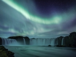 Aurora Waterfall