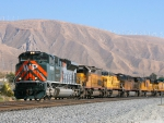 six diesel locomotives awesome photo of union pacific