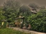 weird romantic cottage