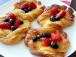 Fruit Topped Danish