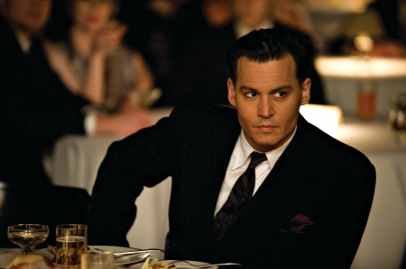 Johnny Depp - suit, male, black, johnny depp, man, hadsome, actor