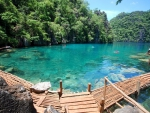 Coron Island Blue Lagoon