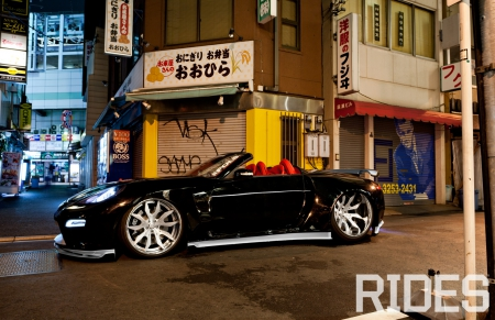 Magic Medley - Nissan, Conv, Black, 05