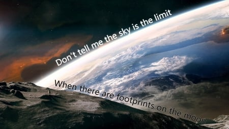 Sky Is Not The Limit Mind Teasers Abstract Background Wallpapers