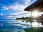 Sunrise Water Villa for Adelina :)
