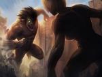 Eren vs Annie