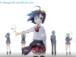one who changed my world cute rikka