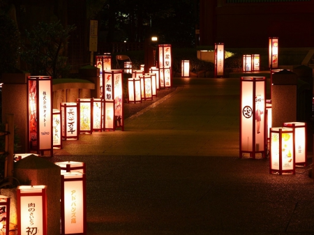 Japanese Lantern Photography Abstract Background
