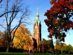 *** Church in Sweden autumn ***
