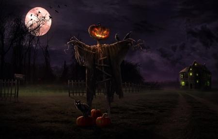Halloween Scarecrow - Desktop Halloween Scarecrow Wallpaper