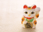 Beckoning Cat- For Luck in Feng Shui
