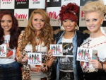 Jade & Jesy & Leigh & Perrie with the new single.