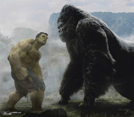 Hulk Vs King Kong